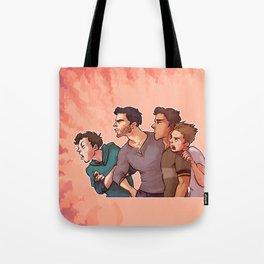 Scott McCall Defense Squad Tote Bag