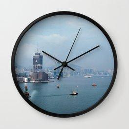 Hong Kong Harbour Wall Clock