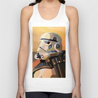 sand Tank Tops featuring Sand by Liam Brazier