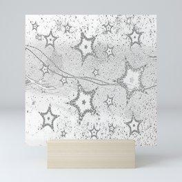 Sliver Star Mini Art Print