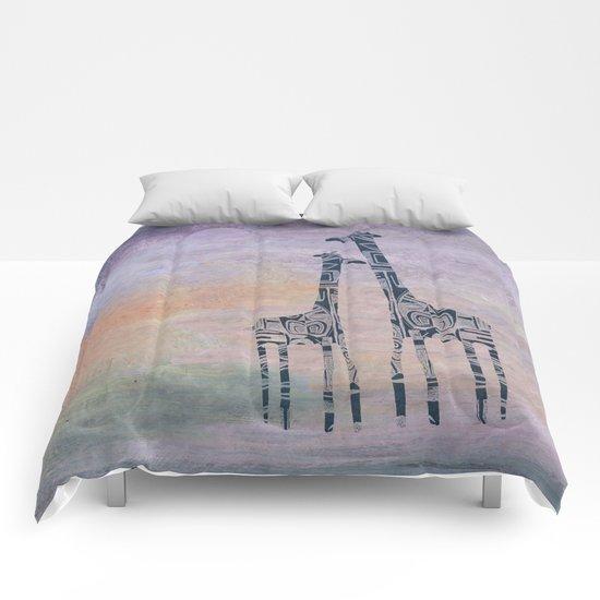giraffes Comforters