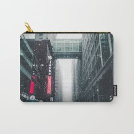 New york under the snow Carry-All Pouch