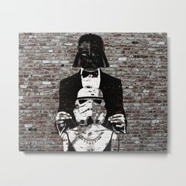Spray Paint - The Gift Metal Print