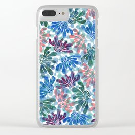 pattern 67 Clear iPhone Case