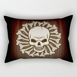 Angry skull Rectangular Pillow