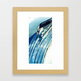 Profile In Chrome II Framed Art Print