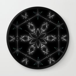 A Sprig of Sixes and Sevens  Wall Clock