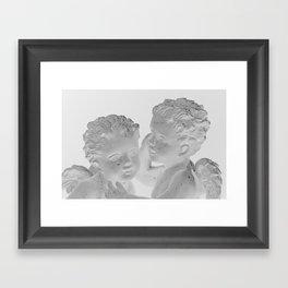 Cupid´s angels Framed Art Print