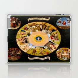 The Seven Deadly Sins and The Four Last Things Laptop & iPad Skin