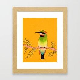 Tropical Bird Framed Art Print