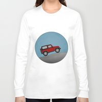 jeep Long Sleeve T-shirts featuring Jeep Jeep by rochaStuff