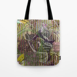 A Strict Code for Mourning Flowers Tote Bag