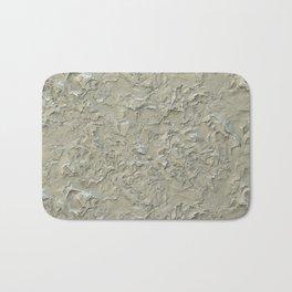 Rough Plastering Texture Bath Mat