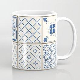 Blue Ceramic Tiles Coffee Mug