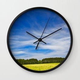 Wye Island Sky Field - Eco Harmony Wall Clock