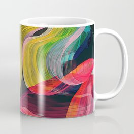 floating scarf Coffee Mug