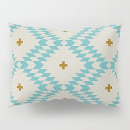 NATIVE NATURAL PLUS TURQUOISE Pillow Sham