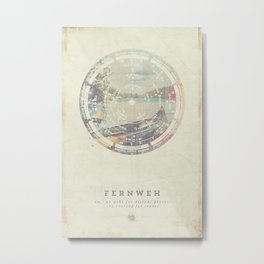 Fernweh Vol 8 Metal Print