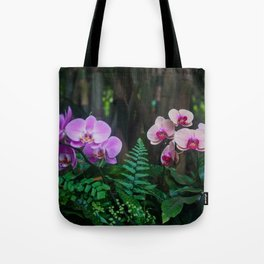 Orchid Leafy Orchid Tote Bag