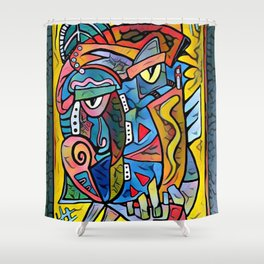 Picture me Shower Curtain