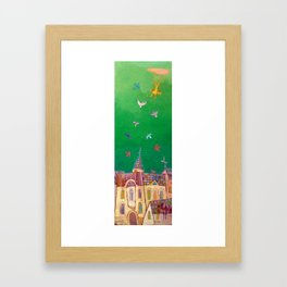 Between two realities 2 Framed Art Print