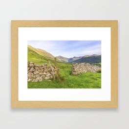 Ben Nevis Mountain Range Framed Art Print