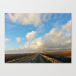 Iceland Road Canvas Print