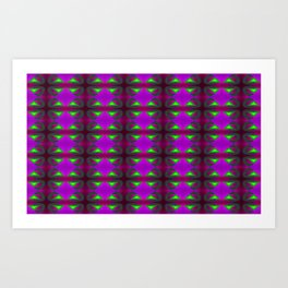 Great absorbing - the pattern ... Art Print