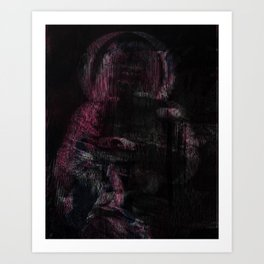 Mother (pink variant) Art Print