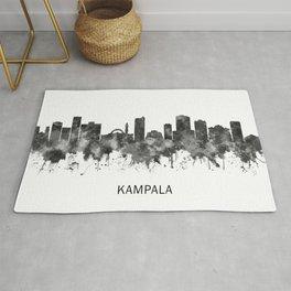 Kampala Skyline BW Rug
