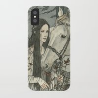 tolkien iPhone & iPod Cases featuring enmeshed in Nan Elmoth by Liga Klavina
