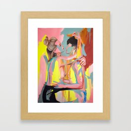 Christine and Michelle Framed Art Print