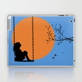 Dreaming like a child Laptop & iPad Skin