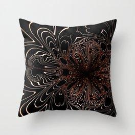 Dark Light Throw Pillow