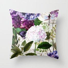 Garden Glow I Throw Pillow