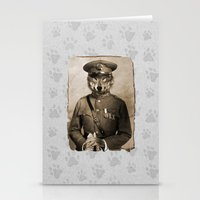 general Stationery Cards featuring The general by Seamless