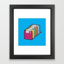 1.44MB Rainbow Framed Art Print