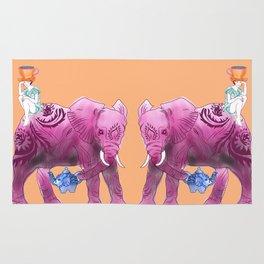 The elephant's dream Rug