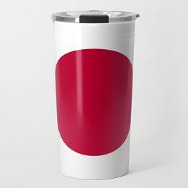 Flag of Japan, High Quality Image Travel Mug