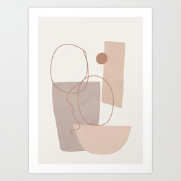Abstract Shapes No.21 Art Print