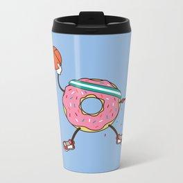 Dunking Donut Metal Travel Mug