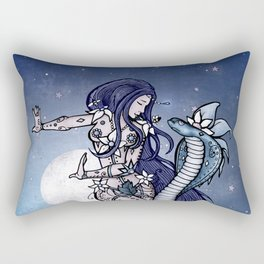 Alexa & The Spirit Snake Rectangular Pillow