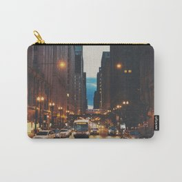 the streets of Chicago ... Carry-All Pouch