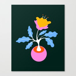 SPRINGTIME FLOWER Canvas Print