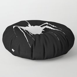 Spiders and Dust, Creepy Winter Things Floor Pillow