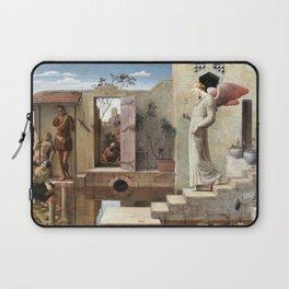 12,000pixel-500dpi - Robert Bateman - The Pool of Bethesda - Digital Remastered Edition Laptop Sleeve