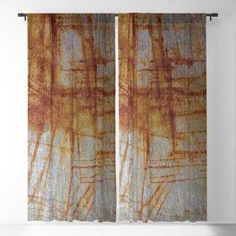 Rusty Boxy Blackout Curtain