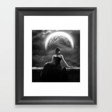 Waiting For You Framed Art Print