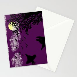 Night Forest / Bosque nocturno Stationery Cards