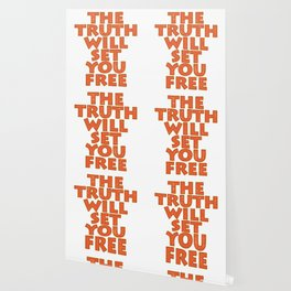 """Simple yet attractive tee design with text """"The Truth Will Set You Free"""". Makes a nice gift too!  Wallpaper"""